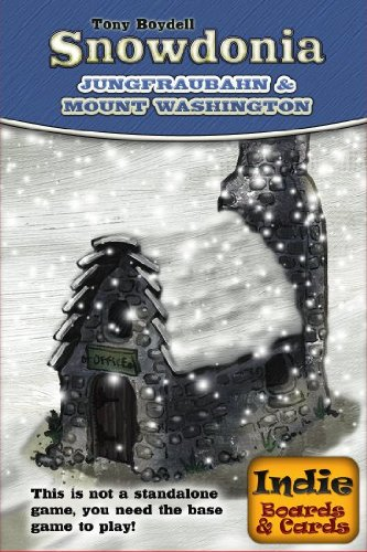 Snowdonia Jungfraubahn Mount Washington Board Game