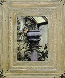 Green house Urn fine art painting print Photograph decor vintage