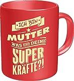 Original RAHMENLOS® Kaffeebecher für die Mama: Ich bin Mutter