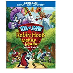 Tom & Jerry Robin Hood & His Merry Mouse [Blu-ray]