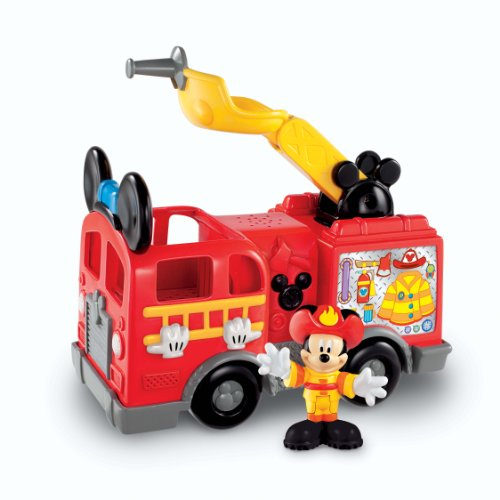 Coche de bomberos de Mickey de Fisher-Price Disney