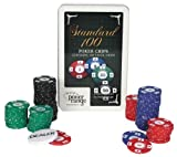 519zBoWG8NL. SL160  poker range Poker Chip Set Standard 7.5gr (100 Stück)