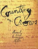 VARIOUS Counting Crows August And Everything After Piano Vocal Guitar Book