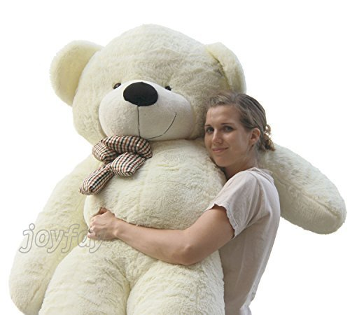Joyfay-78-200cm-White-Giant-Teddy-Bear-Huge-Plush-Toy-Valentine-Birthday-Gift