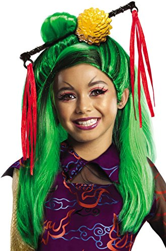 Mememall Fashion Monster High Jinafire Long Child Costume Wig (Monster High Jinafire Child Wig)