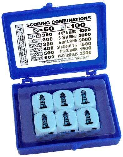 CO-Lighthouse Flat Pack Legendary Game, Blue