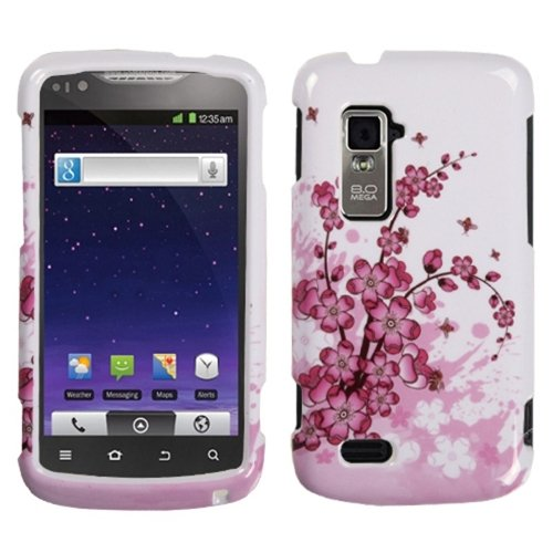 Mybat Zten910Hpcim025Np Slim Stylish Protective Cover For Zte Anthem N910 - 1 Pack - Retail Packaging - Spring Flowers front-745812