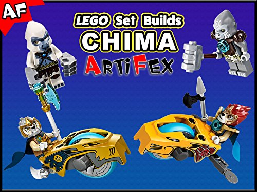 Clip: Lego Set Builds Chima - Season 1