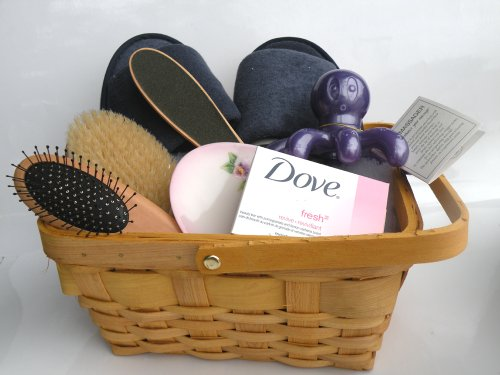 Spa Kit,Spa Bath Basket-Pamper Your Soul:Deluxe Natural Bath & Beauty Spa Basket, Comes With Gorgeous Super Rich Re-Useable Rectangle Basket (Size At 10