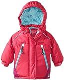 Rugged Bear Baby-girls Infant Cutie Pie Colorblock Ski Jacket