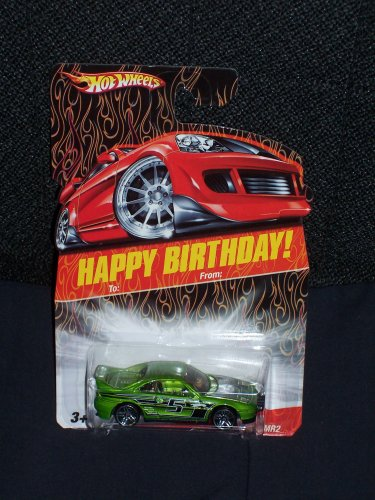 Hot Wheels 2007 Happy Birthday Series Toyota MR2 Wal-Mart Exclusive 1:64 Scale Collectible Die Cast Car