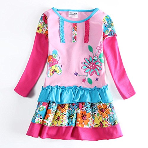 Novatx Flower Princess Baby Girl Clothes H5602 Pink (4/5y) (Made In China Wholesale compare prices)