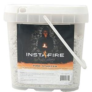 InstaFire Bulk Fire Starter, 2-Gallon Bucket by Instafire
