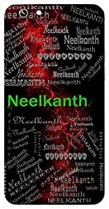 Neelkanth (One With Blue Neck (E.G. The Bird Peacock, Lord Shiva)) Name & Sign Printed All over customize & Personalized!! Protective back cover for your Smart Phone : Moto G3 ( 3rd Gen )