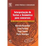 Interpretação de Textos e Semântica para Concursos (PROVAS E CONCURSOS)