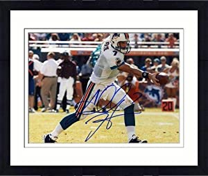 Framed Autographed Henne Photo - Miami Dolphins 8x10 Memories - Mounted Memories... by Sports Memorabilia