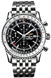 NEW BREITLING NAVITIMER WORLD GMT MENS WATCH A2432212/B726