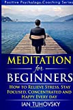 Meditation for Beginners: How to Meditate (As An Ordinary Person!) to Relieve Stress, Keep Calm and be Successful: Volume 4 (Positive Psychology Coaching Series)