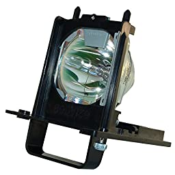 AuraBeam Professional Mitsubishi WD-92842 Television Replacement Lamp with Housing (Powered by Philips)