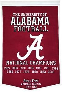 NCAA Alabama Crimson Tide Dynasty Banner by Winning Streak