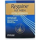 EXTRA STRENGTH - REGAINE FOR MEN - 3 x 60 ml