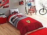 Ferrari f1 Single Twin Duvet Cover Set Bedding-Bed linen-Licensed-%100 Cotton (Comforter not included)