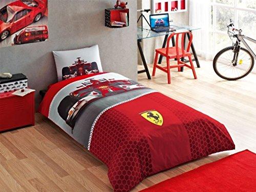 Ferrari-f1-single-twin-duvet-cover-set-bedding-bed-linen-licensed-0 Cotton