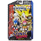 Sonic The Hedgehog Sonic and Amy Figure pack w/Comic Book Version