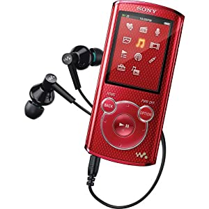 Sony NWZE464RED Walkman MP3 player