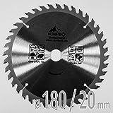 Almipex HM Kreissägeblatt Ø 180 x 20 mm mit 40