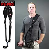 Carry Speed New 2014 FS-Pro, DSLR Camera Quick Release Neoprene Sling Shoulder Neck Strap + F-2 foldable mounting plate