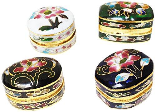 Cloisonne Pill Boxes