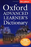 A S Hornby Oxford Advanced Learner's Dictionary, Seventh Edition: Paperback with Oxford 3000⢠Vocabulary Trainer and Compass CD-ROM