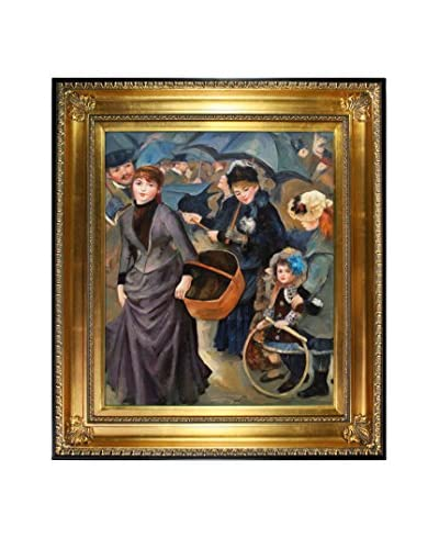 Pierre Auguste Renoir The Umbrellas Oil Painting