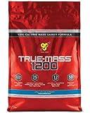 BSN TRUE-MASS 1200-Vanilla, 10lb (15 Servings)