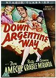 echange, troc Down Argentine Way- Studio Classics [Import anglais]