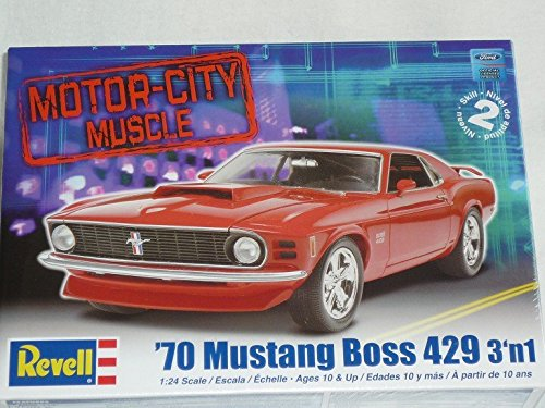 Ford Mustang Boss 429 3 in 1 1970 Coupe 85-2149 Bausatz Kit 1/24 1/24 Revell Usa Modellauto Modell Auto
