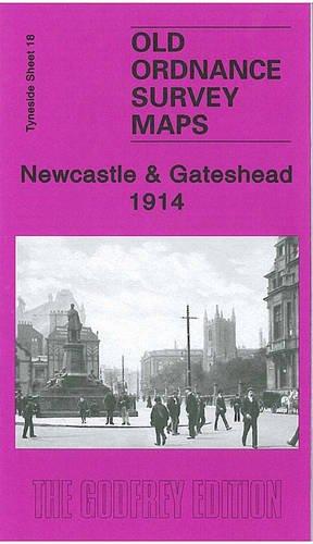 Newcastle & Gateshead 1914: Tyneside Sheet 18