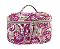 Hot Sale Vera Bradley Home and Away Cosmetic in Paisley Meets Plaid