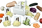 Paderno World Cuisine 4-Blade Spiralizer