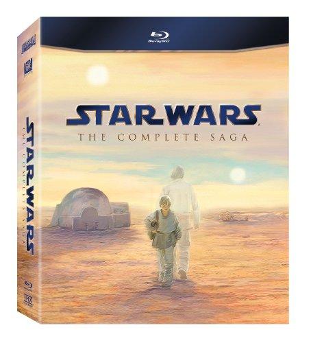 スター・ウォーズ コンプリート・サーガ ブルーレイBOX 北米輸入版 Star Wars: The Complete Saga (Episodes I-VI) [Blu-ray]