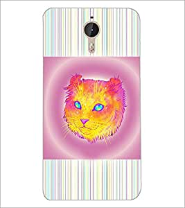PrintDhaba Cat D-3463 Back Case Cover for LETV (LE ECO) LE 1 PRO (Multi-Coloured)