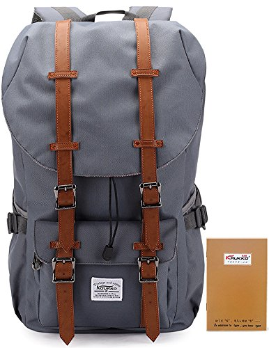 Kaukko-New-Feature-of-2-Side-Pockets-Outdoor-Travel-Hiking-Backpack-Schoolbag