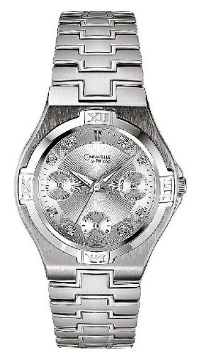 Caravelle Diamond Women'S Watch 43P004