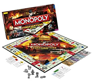 Firefighter Monopoly: Firefighters Edition