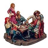 8 Pirate Frenzy Poker Wench Figurine Nautical Tropical Home Decor