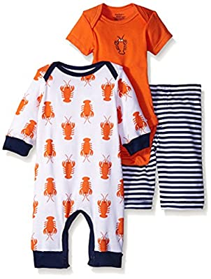 Gerber Baby Boys' 3 Piece Coverall, Bodysuit, and Pant Set by Gerber Children's Apparel that we recomend individually.
