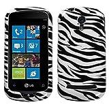 Asmyna LG Quantum Phone Protector Cover - Zebra Skin