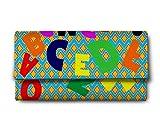 ShopMantra alphabates Multicolor Ladies Wallet LW00000238
