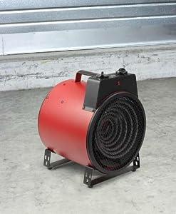 PowerHeizer, Bauheizer, Heizung inkl. Kühlfunktion, 3000 Watt Heizstrahler für Räume bis 50 qm, spritzwassergeschützt, NEU + OVP  BaumarktBewertungen